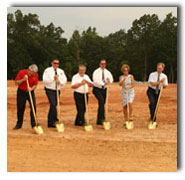 Crowders Mountain Volunteer Fire & Rescue Ground Breaking